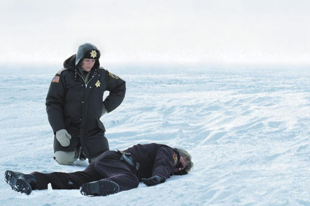Fargo (1996) - Directed by: Joel Coen and Ethan CoenWritten by: Joel Coen and Ethan Coen