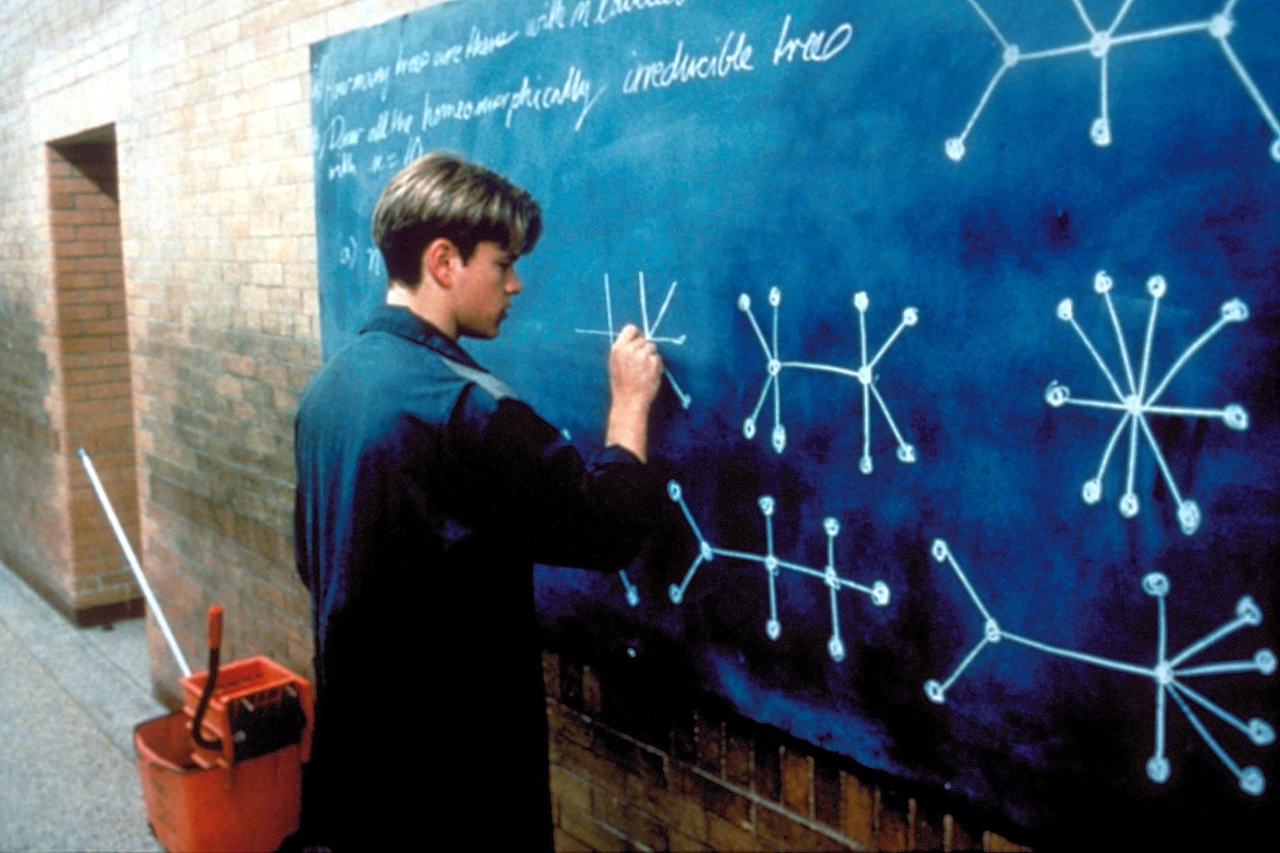 Good Will Hunting (1997) - Directed by: Gus Van SantWritten by: Matt Damon & Ben Affleck