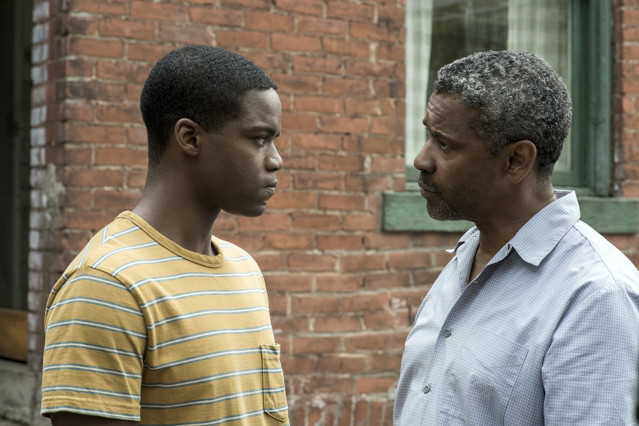 Fences (2016) - Directed by:Denzel WashingtonWritten by:August Wilson