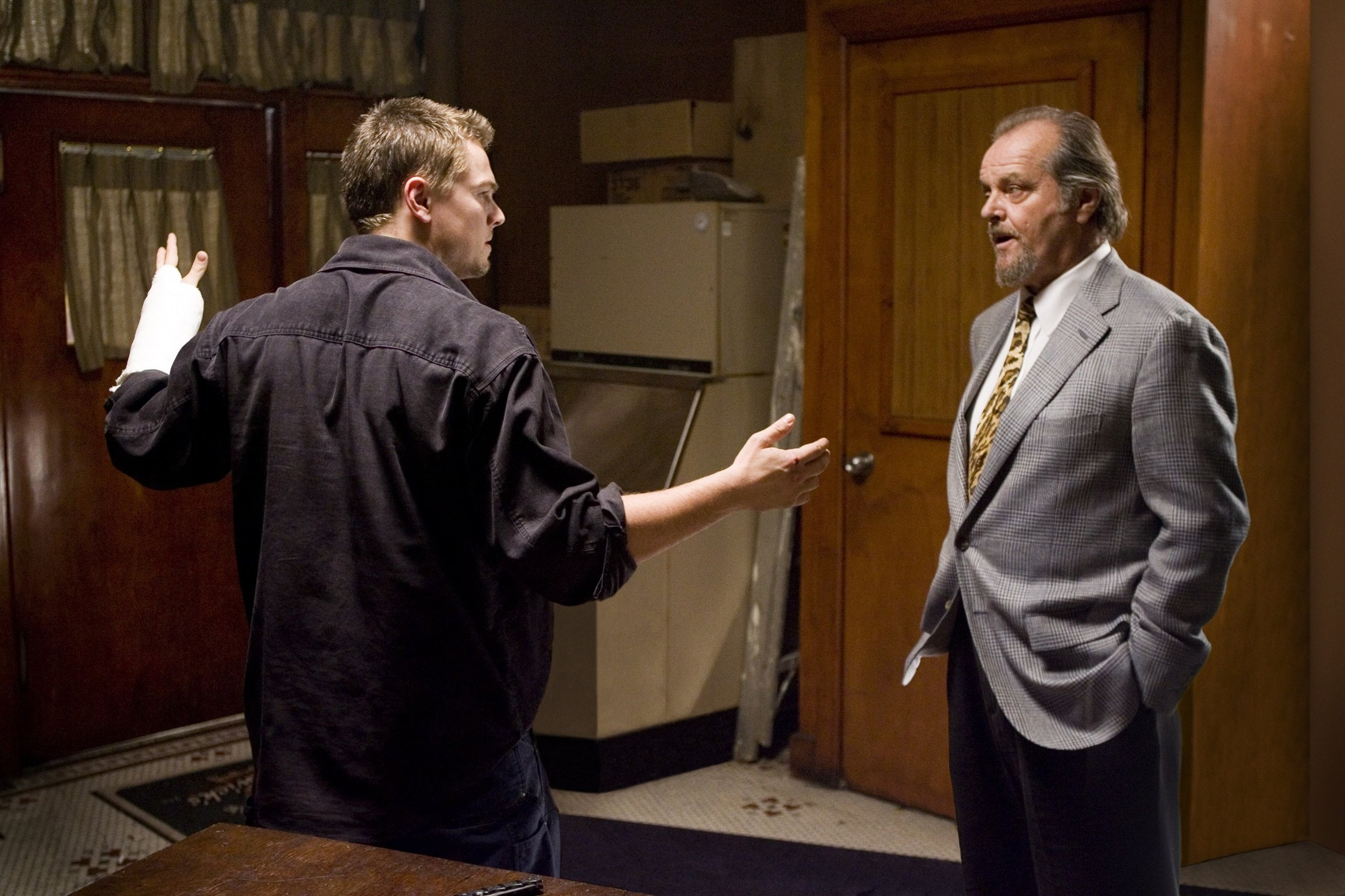 The Departed (2006) - Directed by: Martin ScorseseWritten by: William Monahan