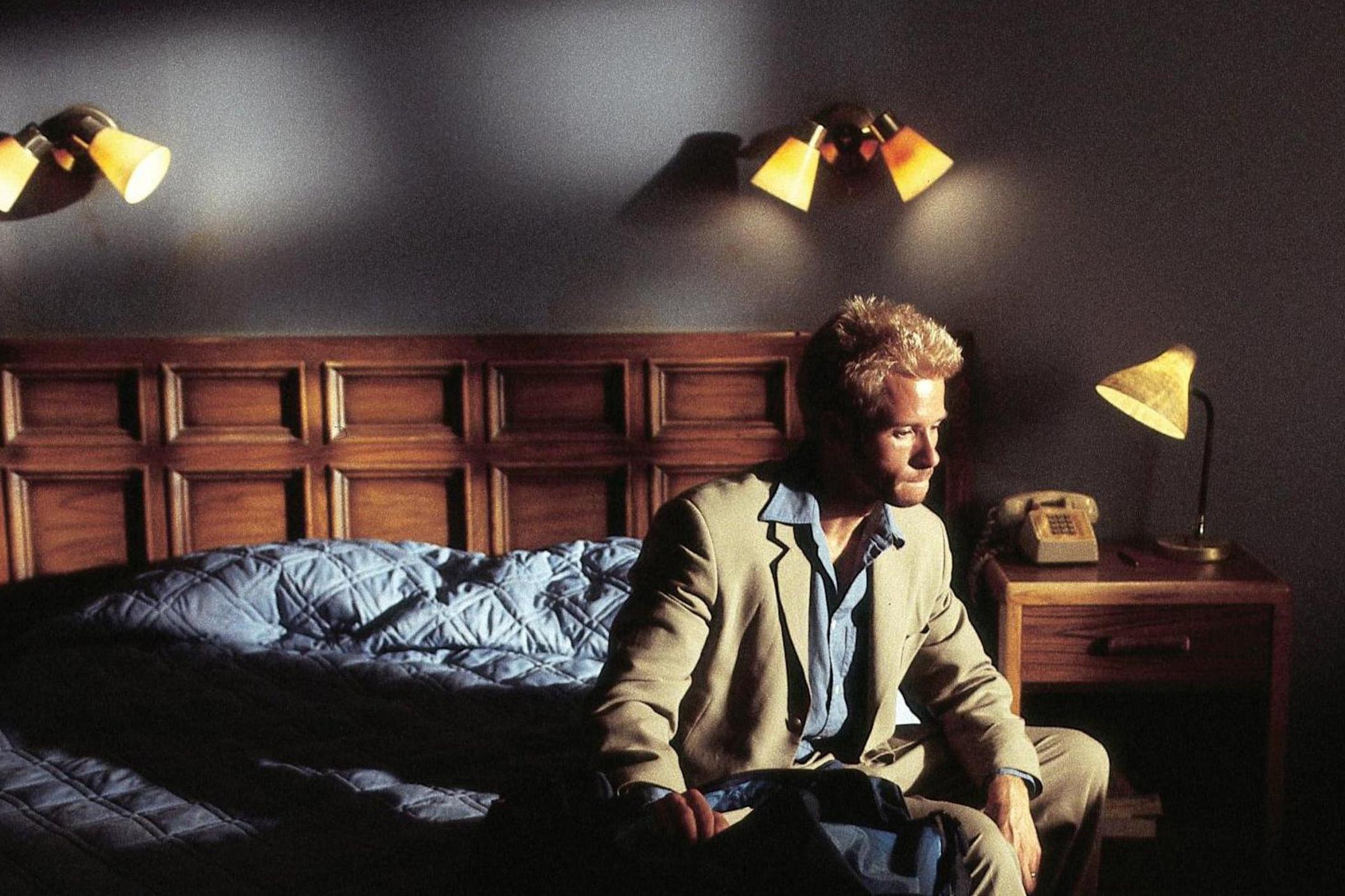 Memento (2000) - Directed by: Christopher NolanWritten by: Christopher Nolan & Jonathan Nolan (short story)