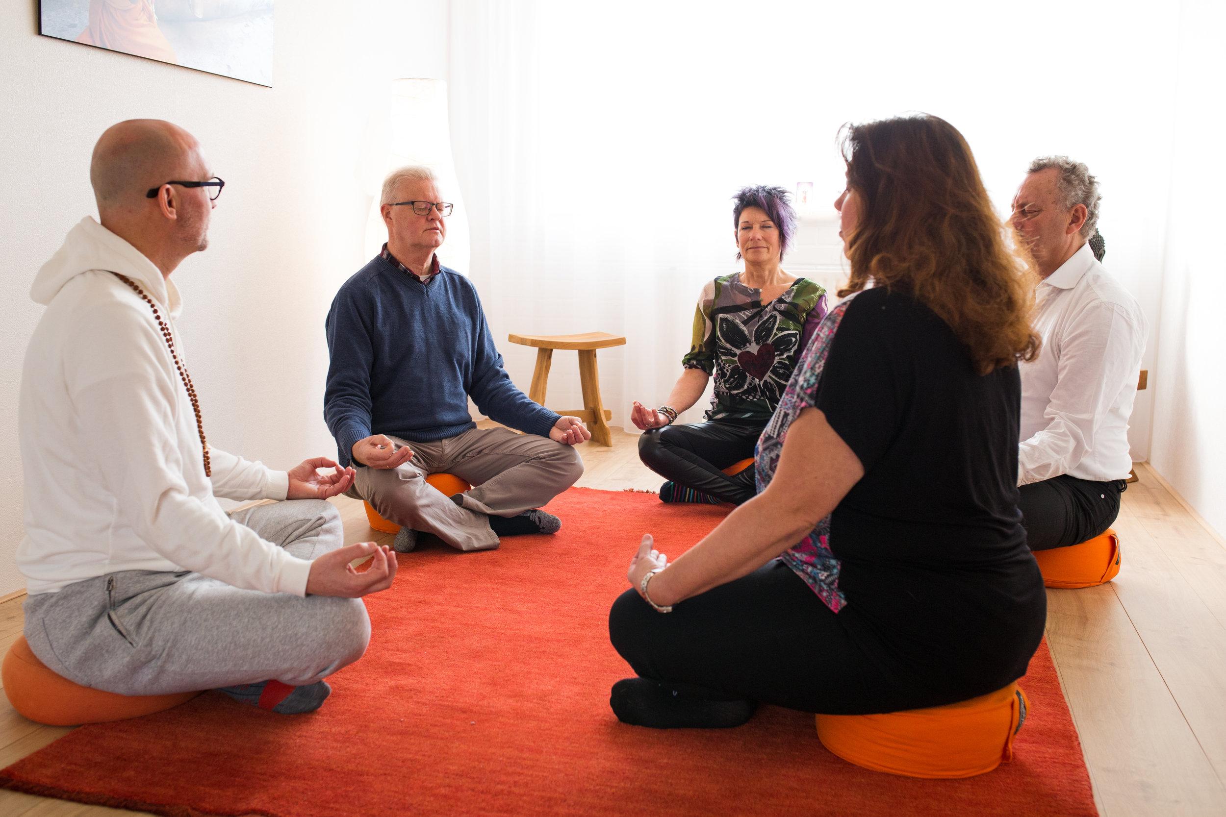 Meditatie brengt onspanning