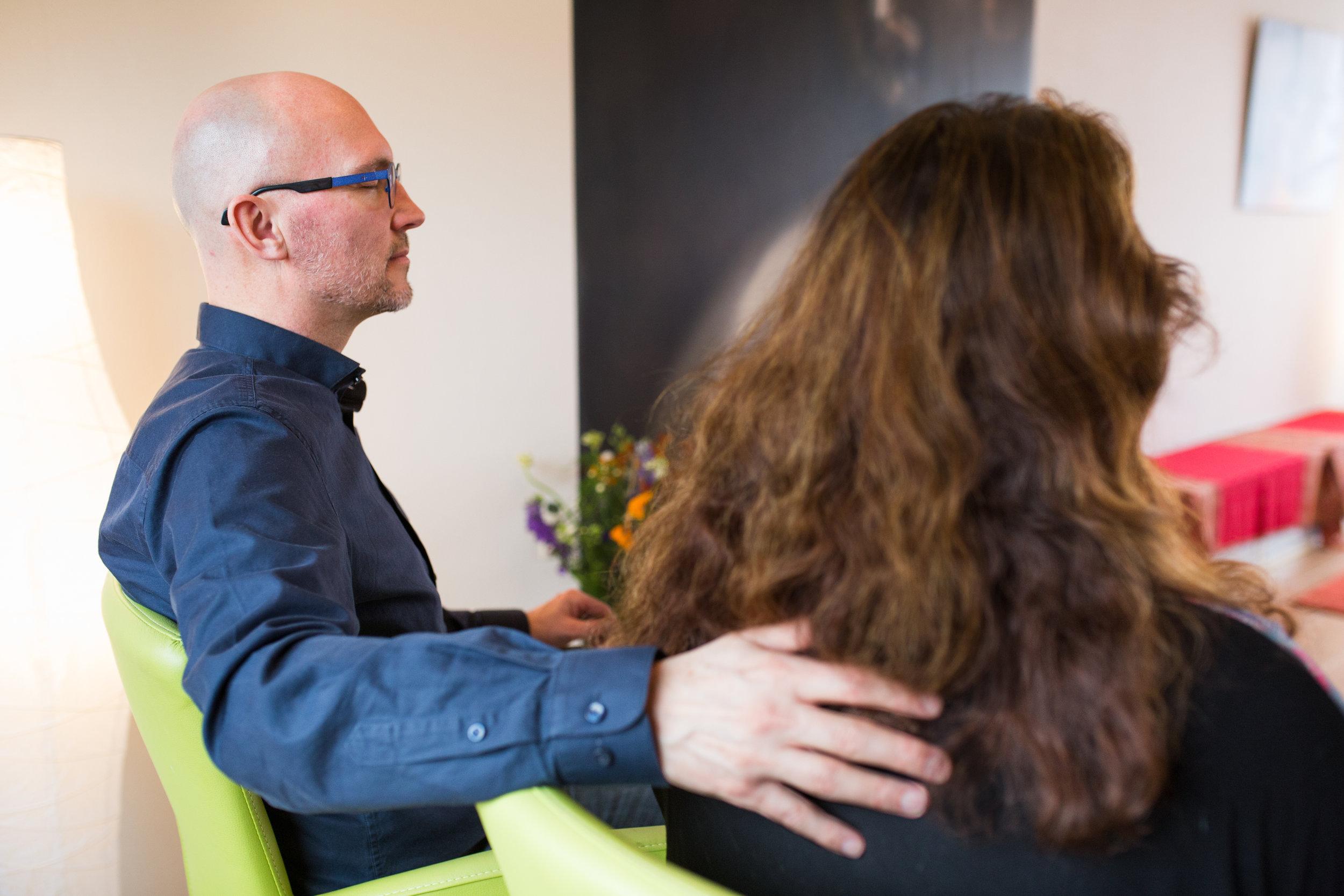 Een Healing consult brengt rust ontspanning en genezing