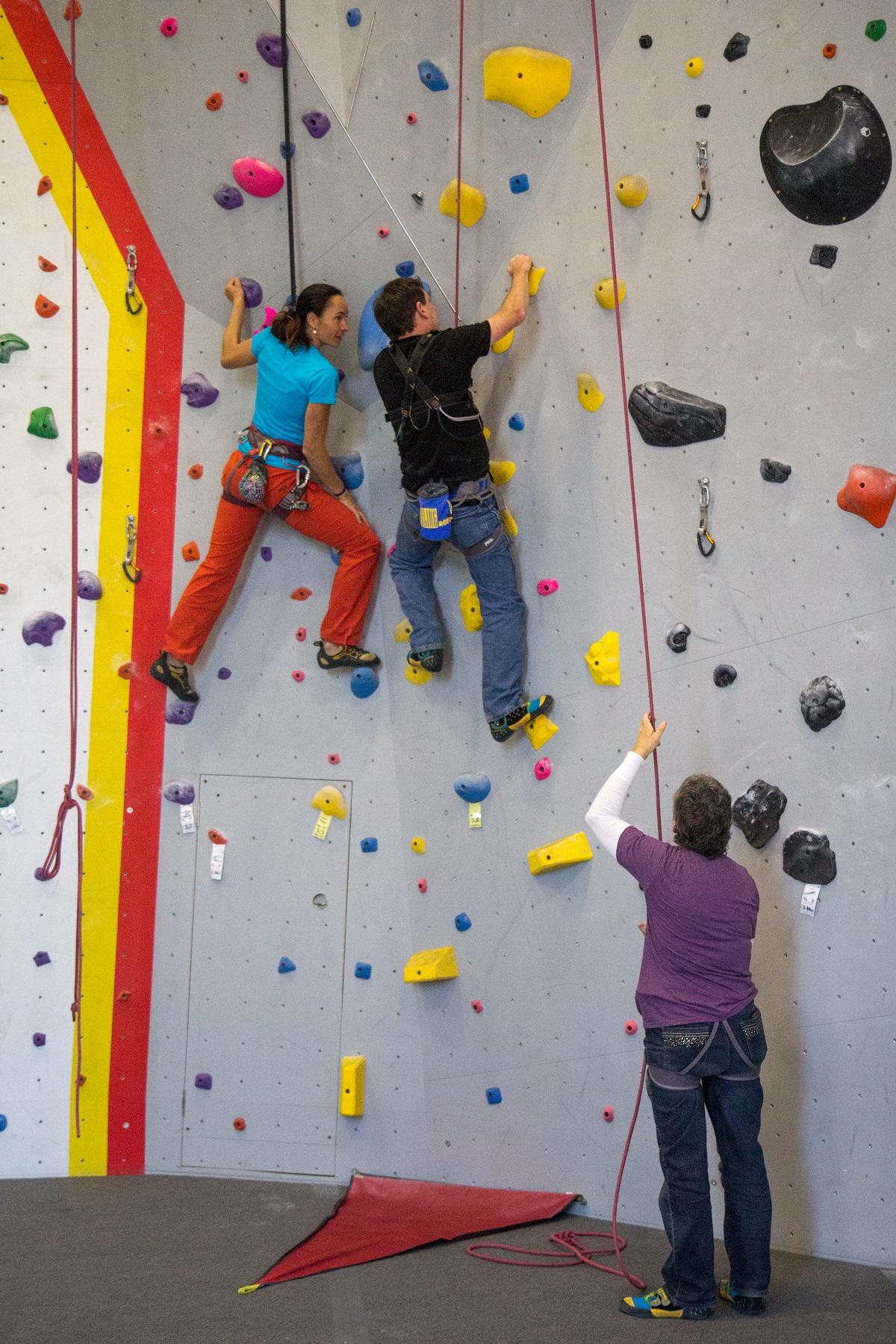 Climbing -