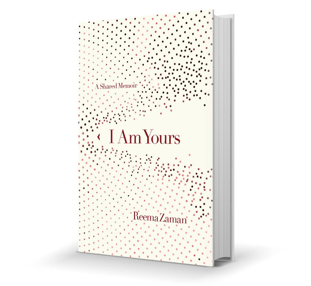 I am Yours book cover, dots flying off page