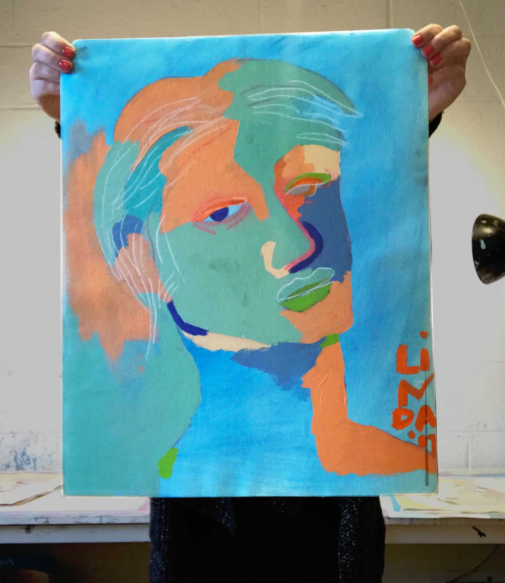 Linda Ward is a Detroit contemporary expressionist artist. Original artwork for sale.