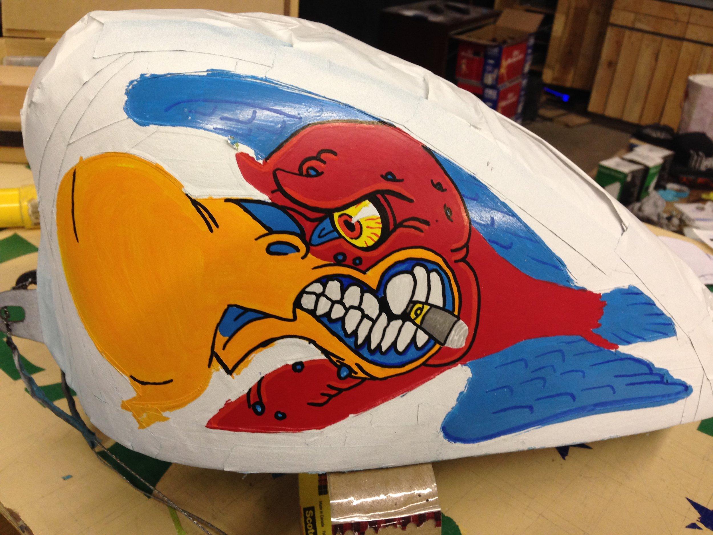 Sketchs Ink H-D Sportster Tank Custom Bobber Paint Ottawa Ontario