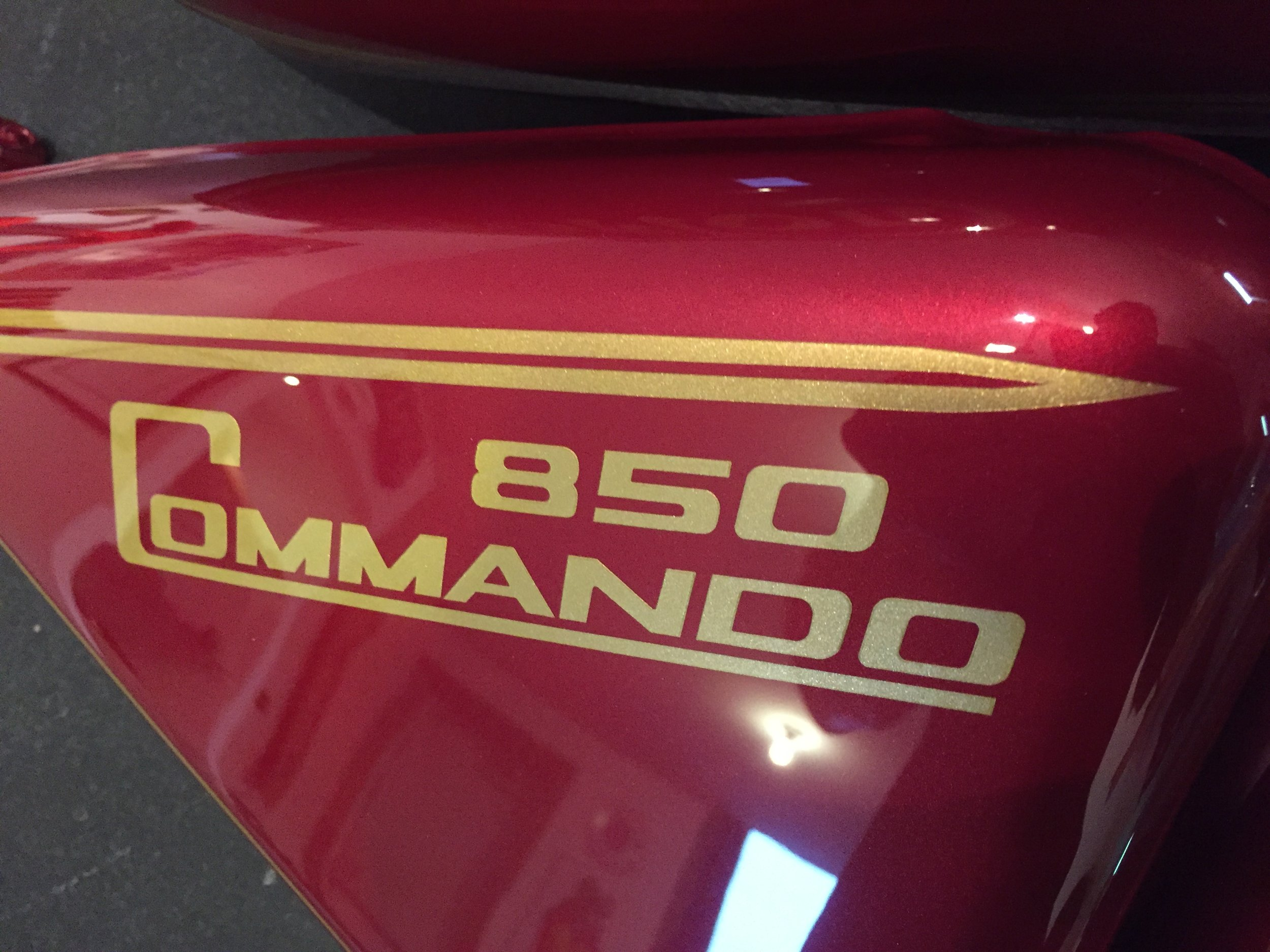 Custom 1974 Norton Commando Restoration by Sketchs Ink Ottawa Ontario
