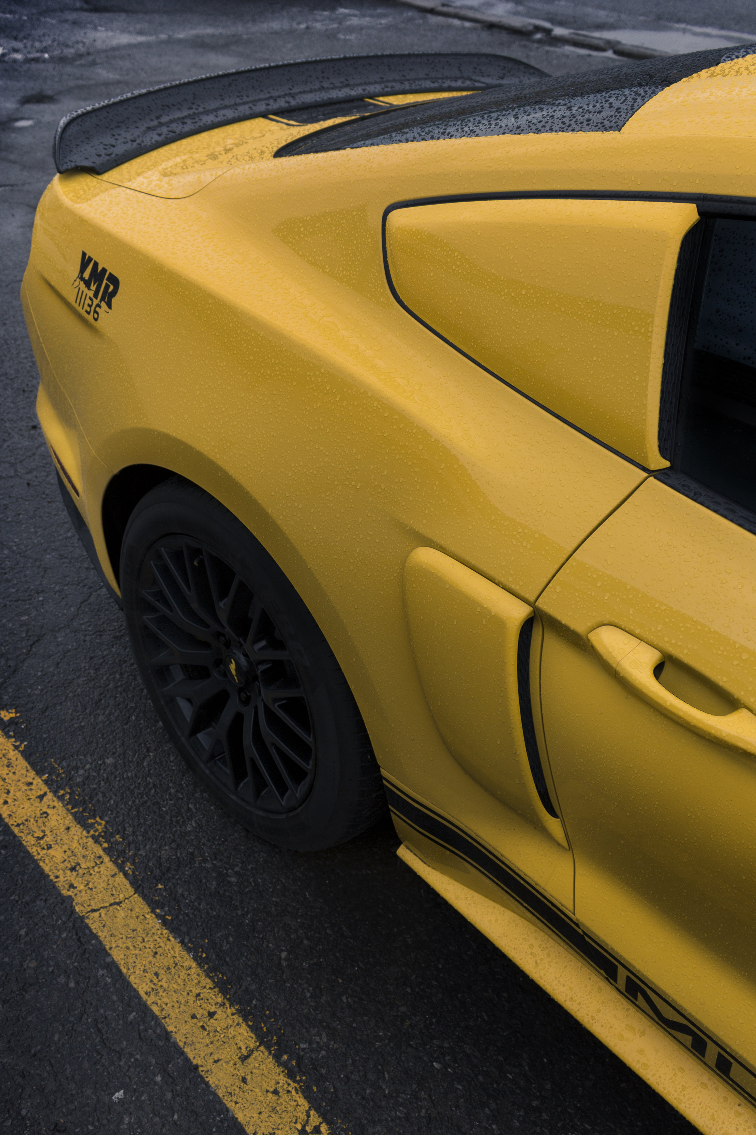 Colour-Matched 2018 2017 2016 ford Mustang GT aero by Sketchs Ink Custom Paint Ottawa Canada Online