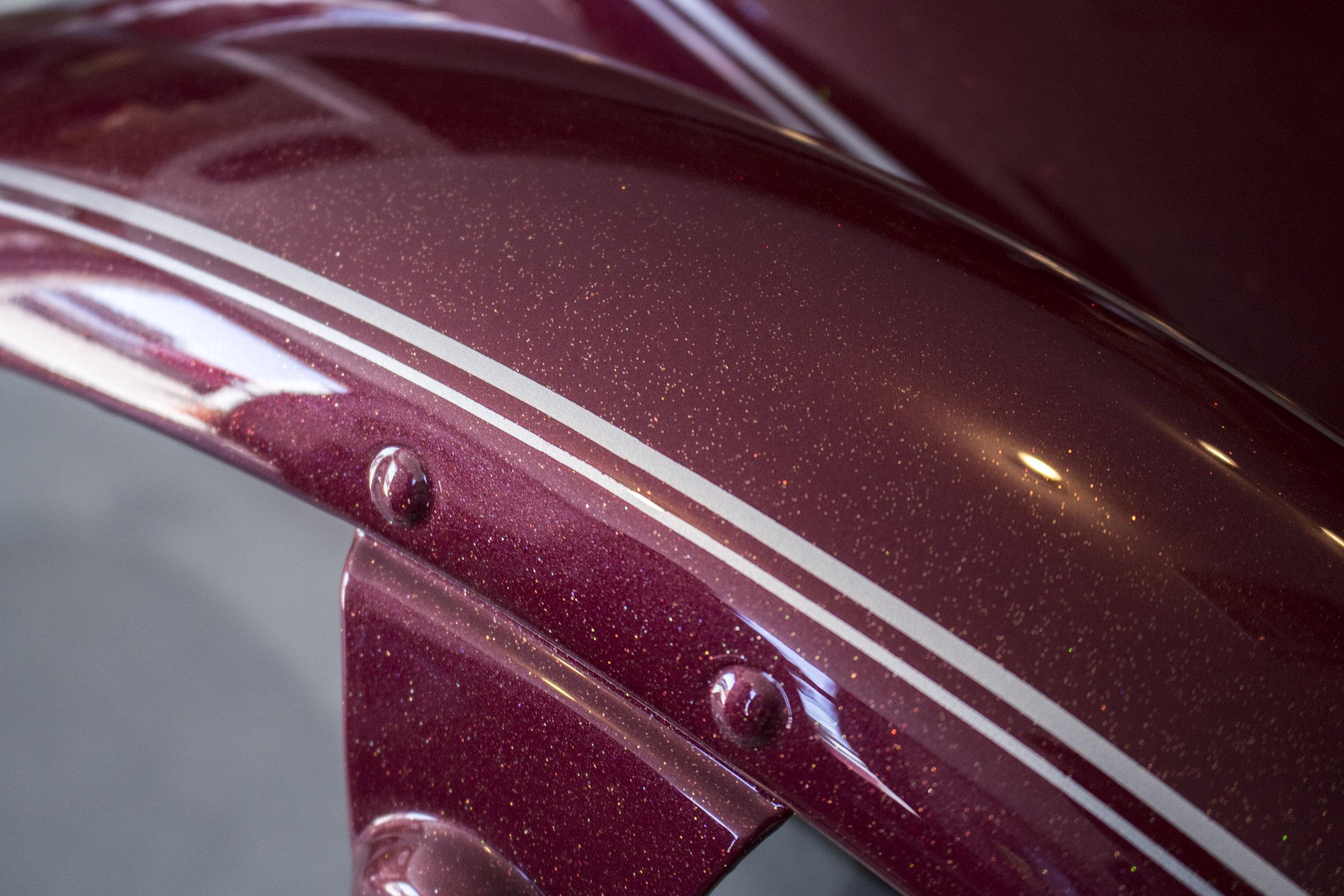 Harley-Davidson Sportster Road-Rash Repair by Sketchs Ink Custom Paint Ottawa Ontario Canada