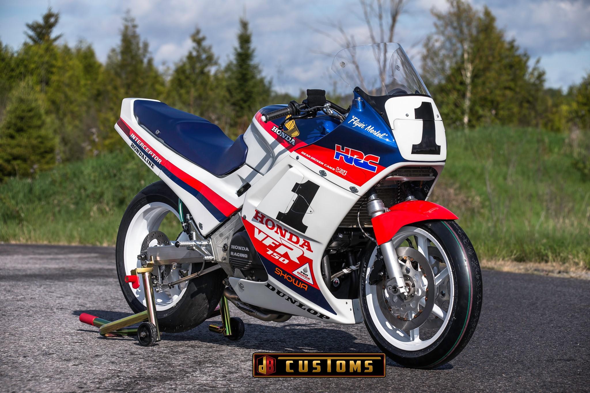 Honda VFR Race Replicas by DBCustom Restomods and Sketchs Ink
