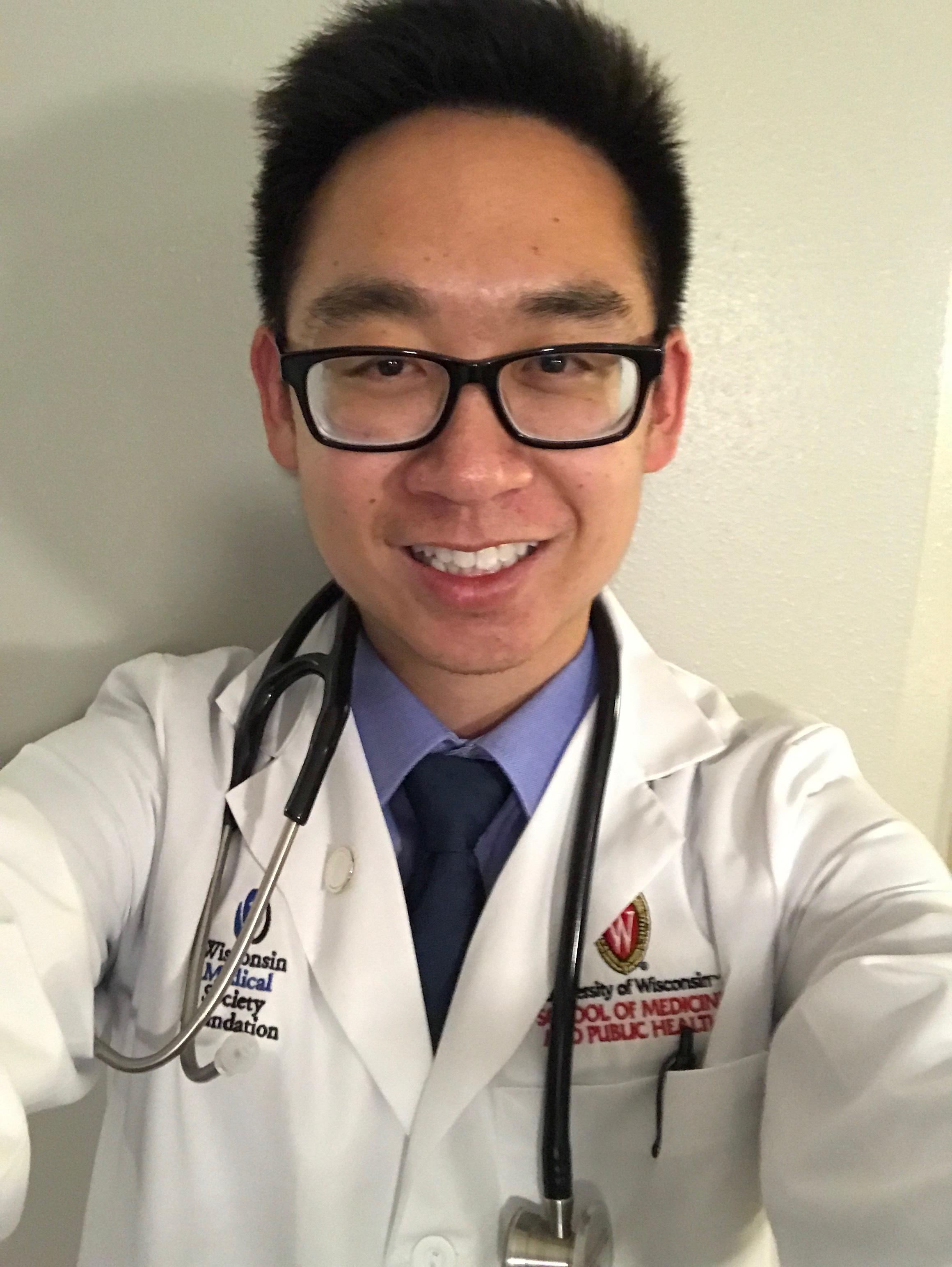 Truman Ngyuen - Year in medical school: third yearHometown: Garden Grove, CAHigh School: Rancho Alamitos High SchoolHCF role: Co-President