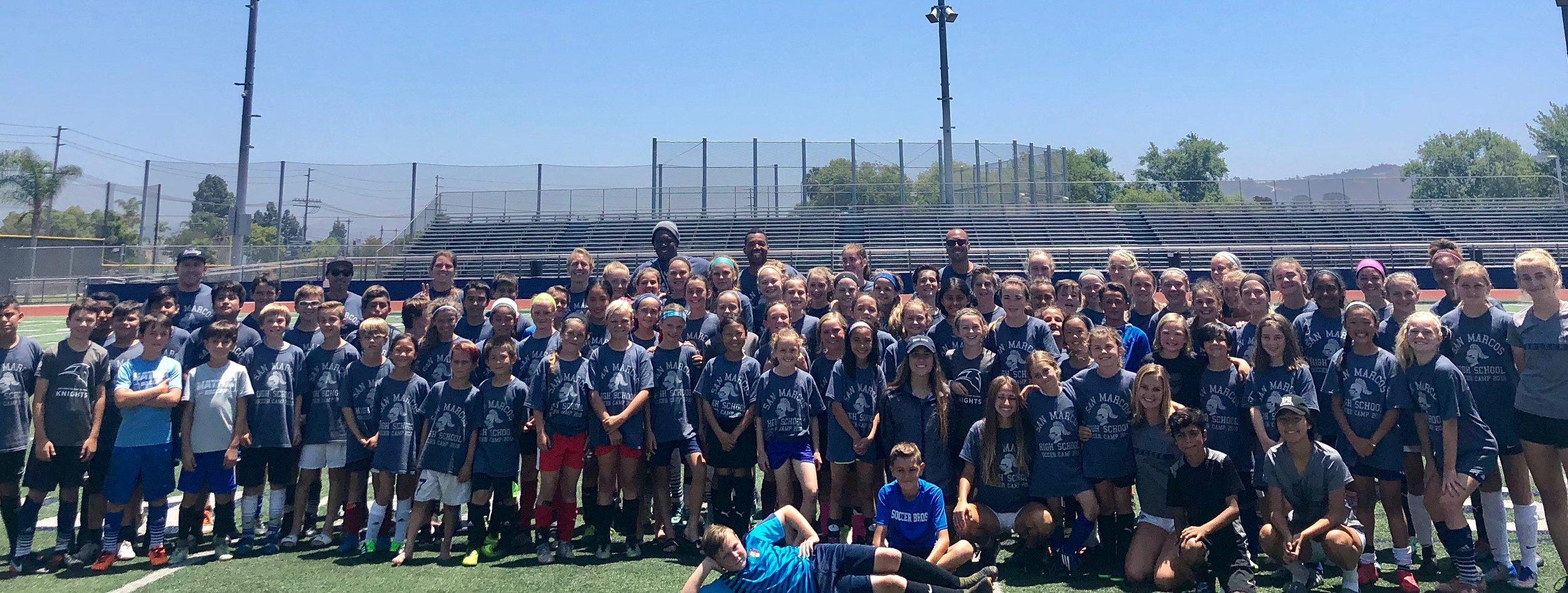 San Marcos High School Soccer Camp