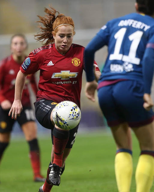 MARTHA HARRIS - On 13 July 2018 it was announced that Harris was joining Manchester United for their inaugural season.[12] On 9 September 2019, she made her debut for the club in a 12–0 away victory over Aston Villa in the Championship.LiverpoolIn her first season with Liverpool she was called up to the England squad for the 2014 FIFA U-20 Women's World Cup.[15] She scored in England's opening match, a 1–1 draw with South Korea, but the next two matches were lost and England went out in the first round. Harris then graduated to England's under-23 team.EnglandHarris was part of the England women's national under-19 football team who finished as runners-up to France at the 2013 UEFA Women's Under-19 Championship in Wales.