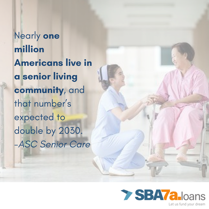 Nearly one million Americans live in a senior living community, and that number is expected to double by 3030.