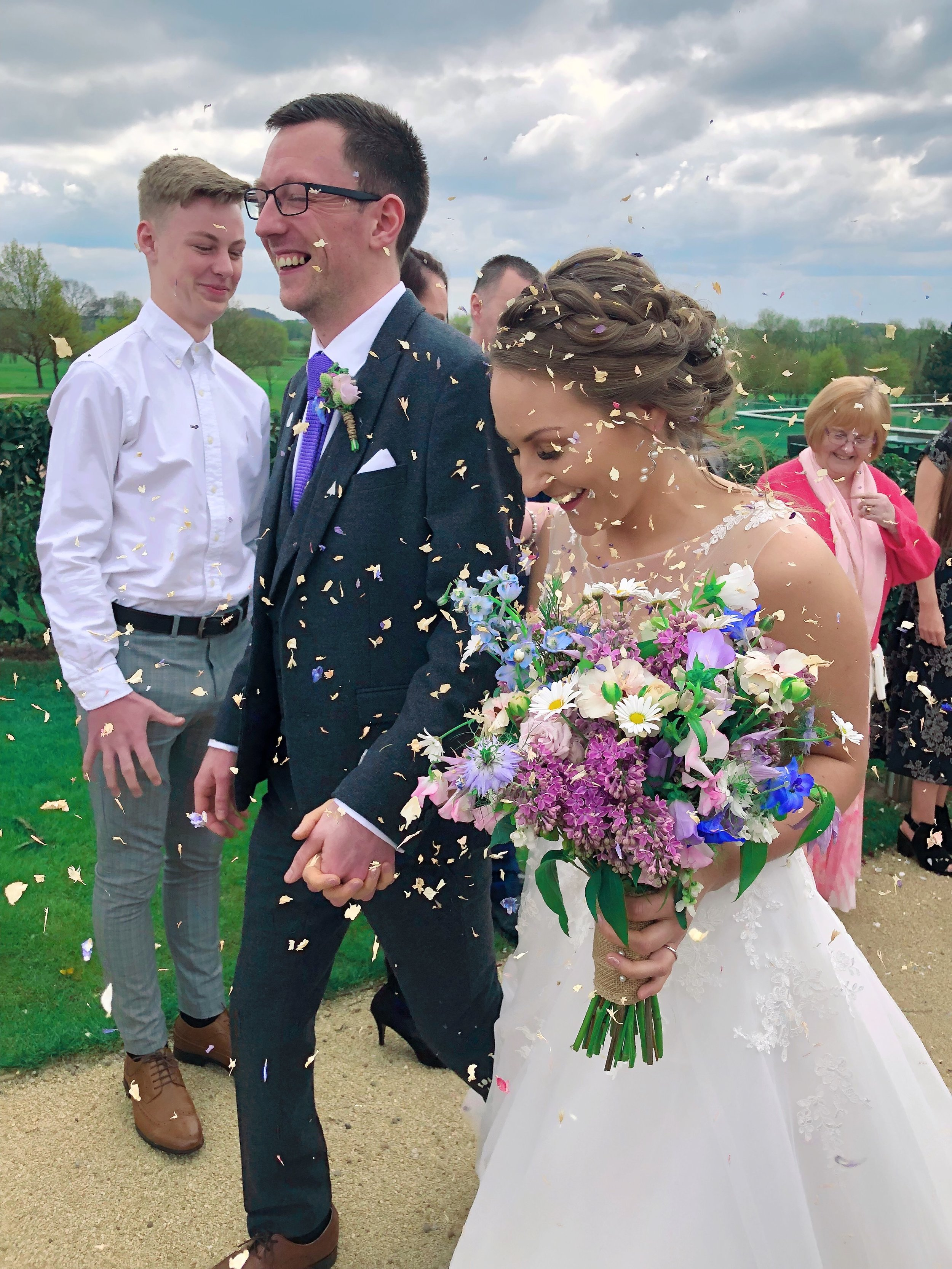 Keeley and Josh - April 2019Philipa recently did our flowers for our wedding, they were absolutely perfect!! So much more than I could ever have imagined. She took all our ideas and made them reality. She was so thoughtful and put in so much hard work!! We can't thank you enough