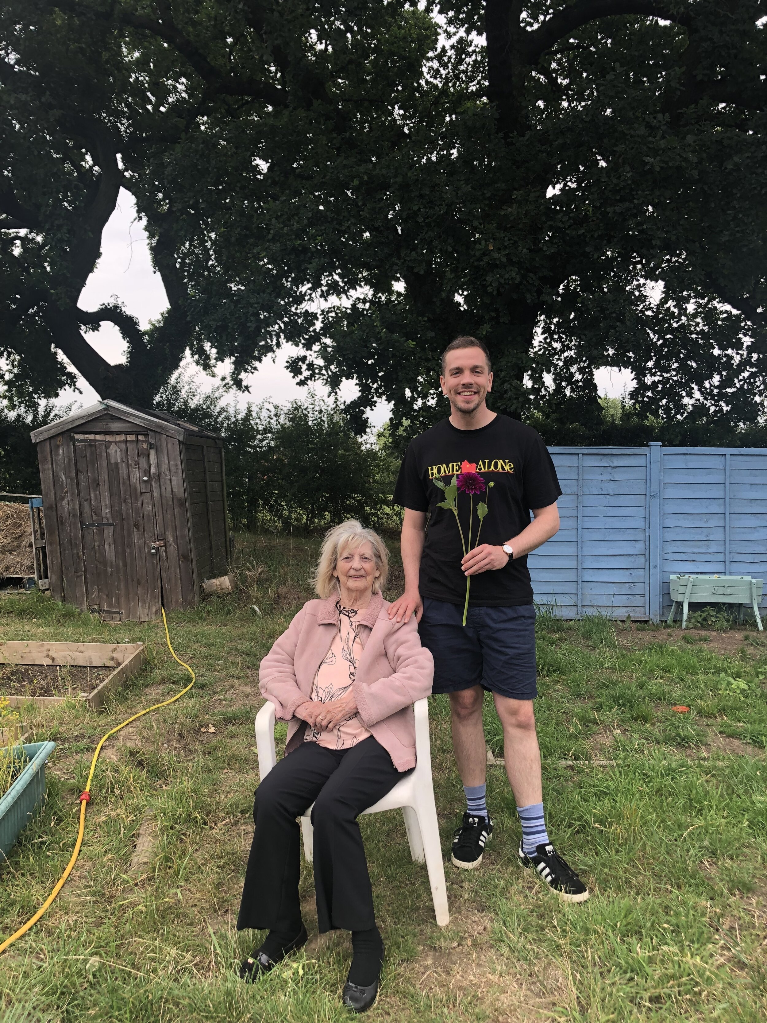 Nanny May and James - August 2019