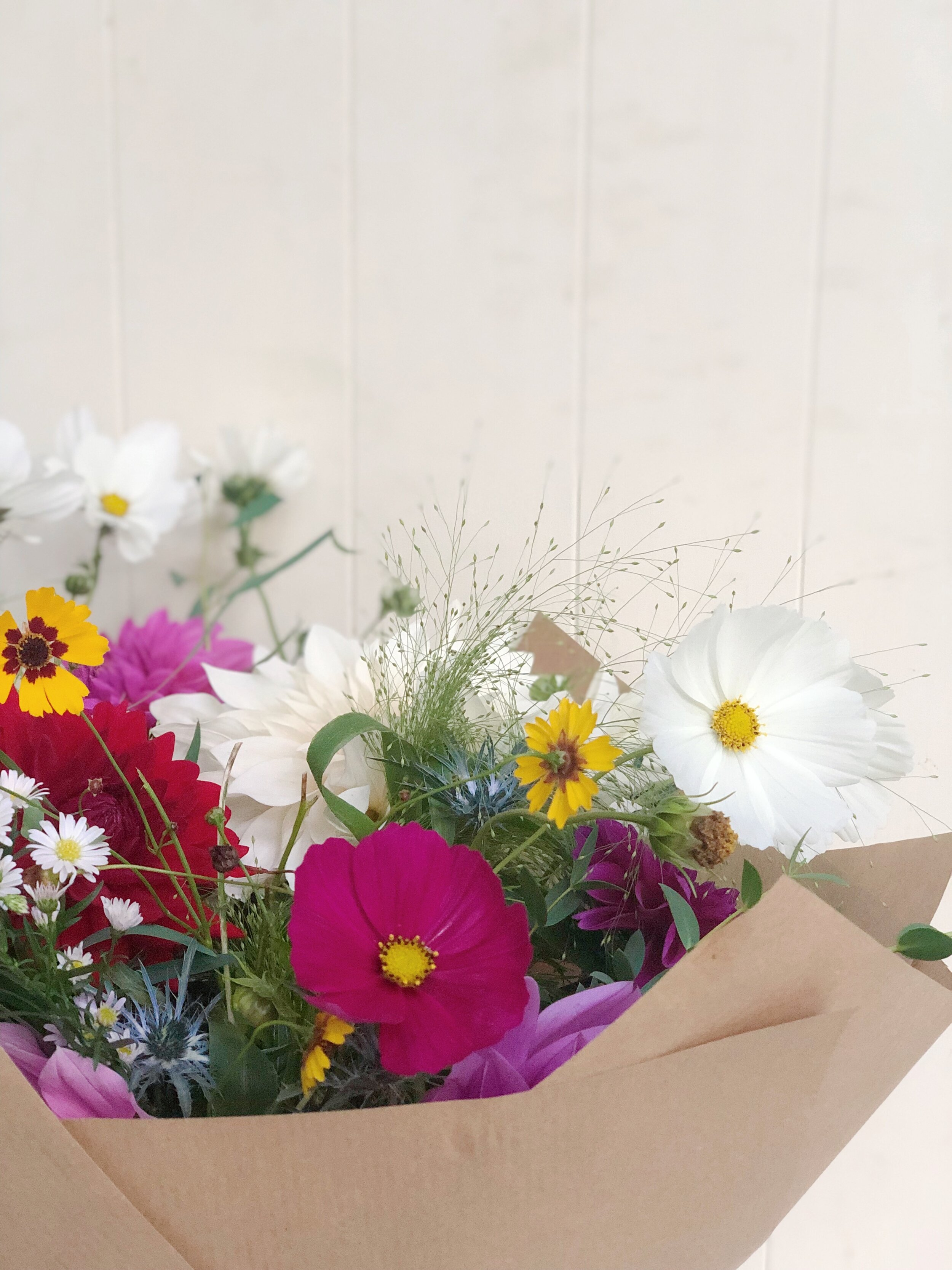 Subscription Flowers - We also offer a weekly flower subscription for those who must have flowers often.Minimum four-week subscription. Delivery included.Each week - £45Three month subscription - £520