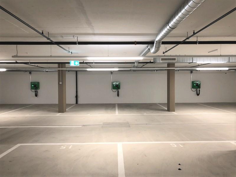 Ladeinfrastruktur in Kriens - 3 Ladestationen wallbe Pro Plus, realisiert mit unserem Partner Invisia.Inbetriebnahme: Februar 2019