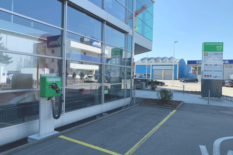 Laden in oensingen - 2 Ladestationen wallbe Pro Plus, realisiert mit unserem Partner Invisia.Inbetriebnahme: März 2019