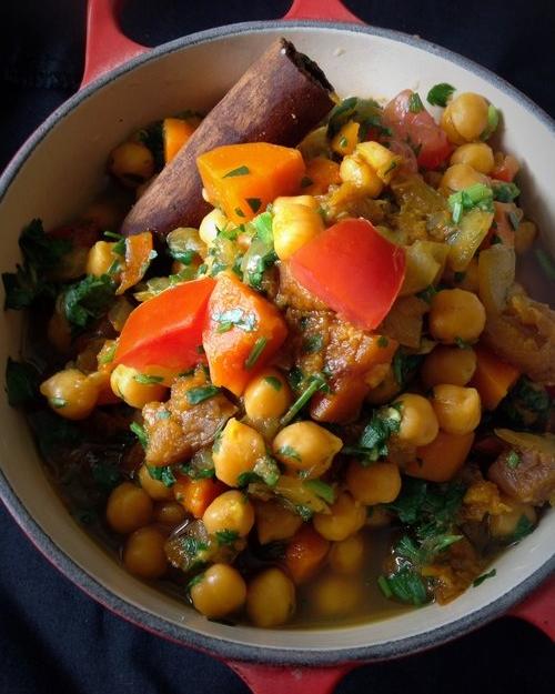 Moroccan Chickpea Tagine Stew