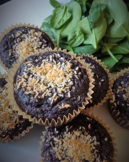Chocolate Secret-Green Vegan Cupcakes