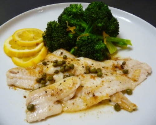 French Baked Lemon Sole