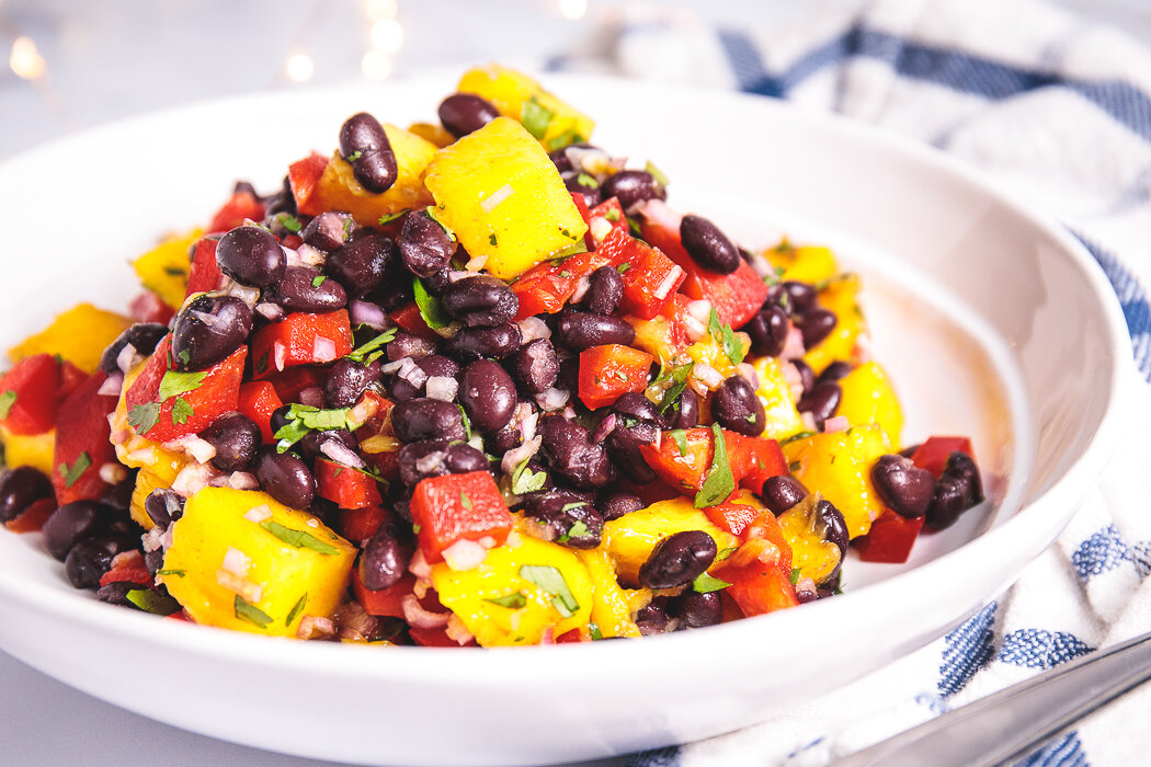 1 5-Minute Mango Corn Black Bean Salad - Easy, Healthy, Plant-Based, Grain-Free, Oil-Free, Vegan Recipe.jpg