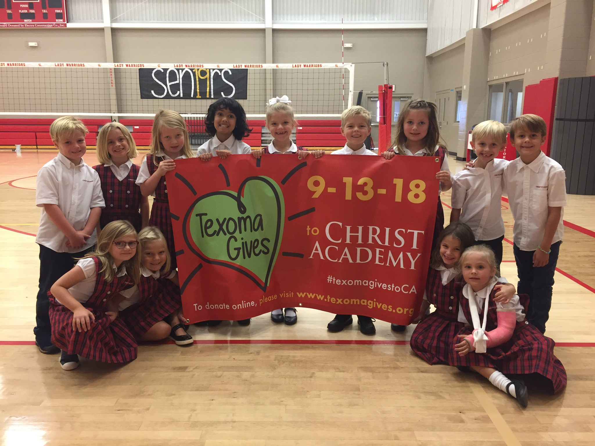 Texoma Gives Christ Academy Grade 1