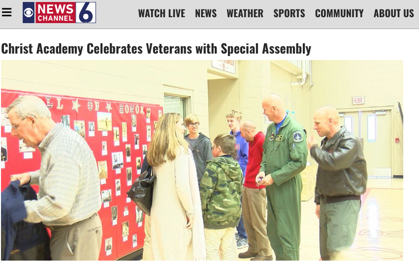 Christ-academy-veterans-day-KAUZ-wichita-falls-tx.jpg