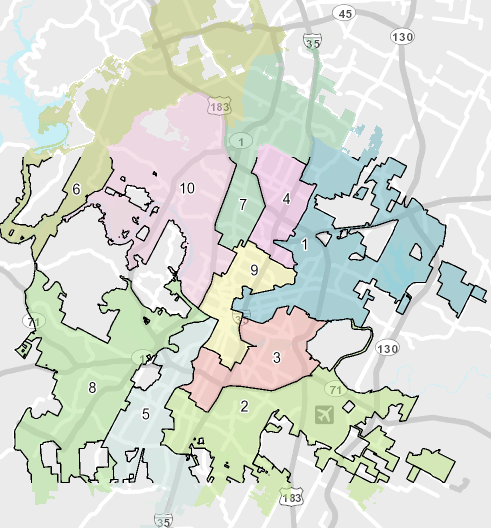 Which City Council district do I live in? - Find out which district you live in here. (Once you click on the link, scroll down the page until you see a blue button that says