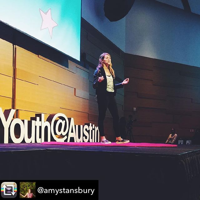 "Reposted from our cofounder @amystansbury - I was so honored to have the chance to share my passion for empowering the next generation of political leaders at this year's @tedxyouthaustin. Meeting with so many excited, passionate, and intelligent high school students was like a much-needed breath of fresh air. ***************************************** I'll close this post the same way I did my talk today - ""This is your community, your city, your country. You can make a difference. You can create the world 🌎 you want to live in. You are powerful."" ✊🏼✊🏽✊🏾✊🏿"