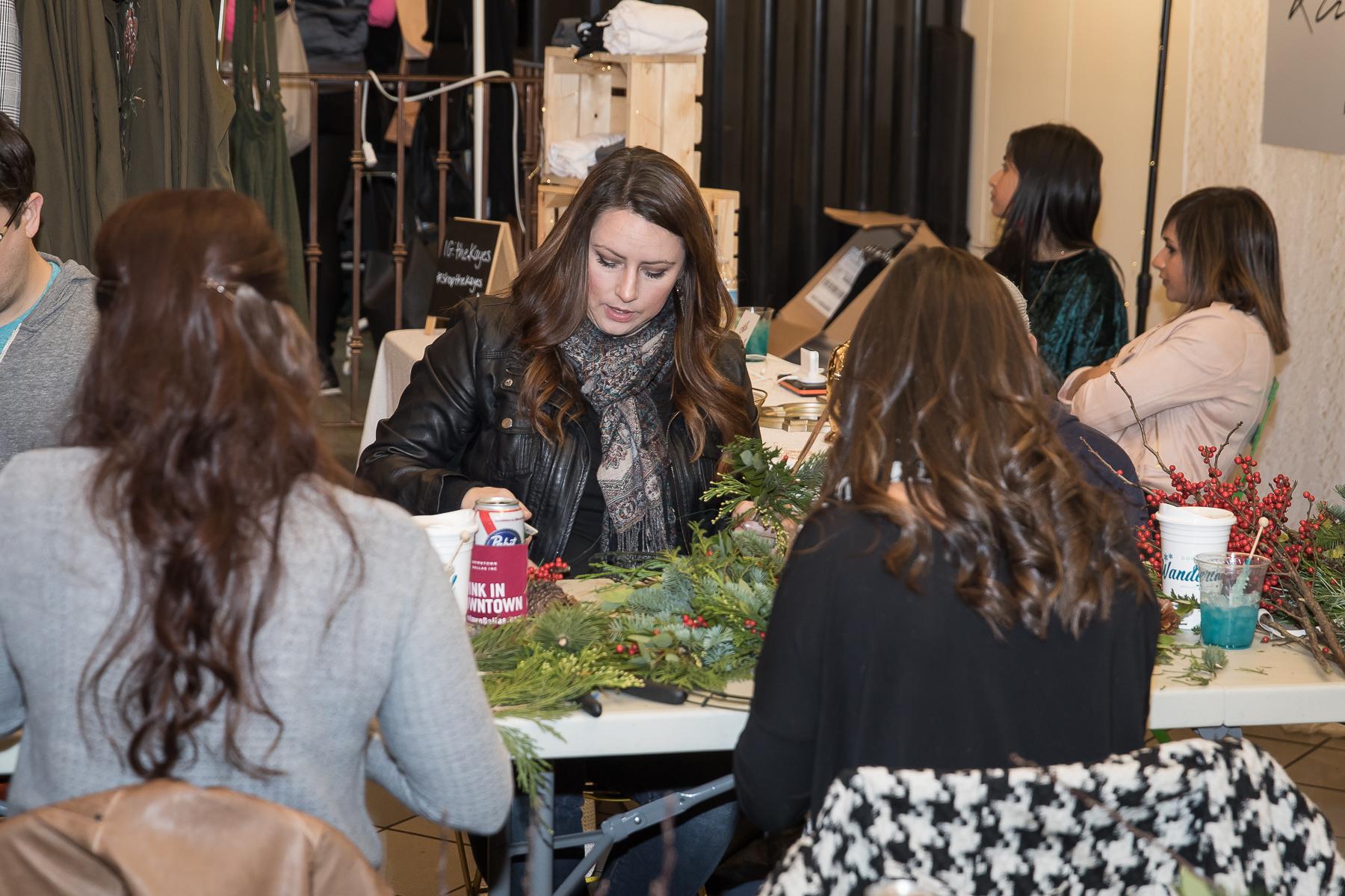 Crafts - Thursdays5:30pm – 7:30pmPressed Flowers / Dec 6 RSVP >Hangin' By A Thread String Art / Dec 13 RSVP >Viv Jordan Lettering / Dec 20 RSVP >PLEASE NOTE: Crafts Require Payment & Advance RSVP Online