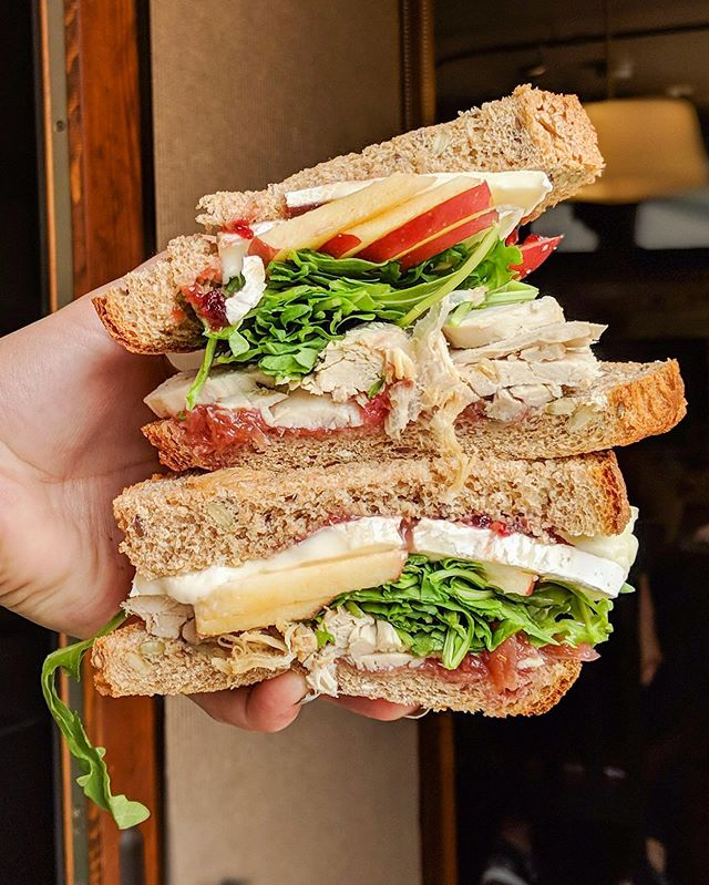 Monday's can brie amazing if you get your hands on this sandwich 😍😍😍