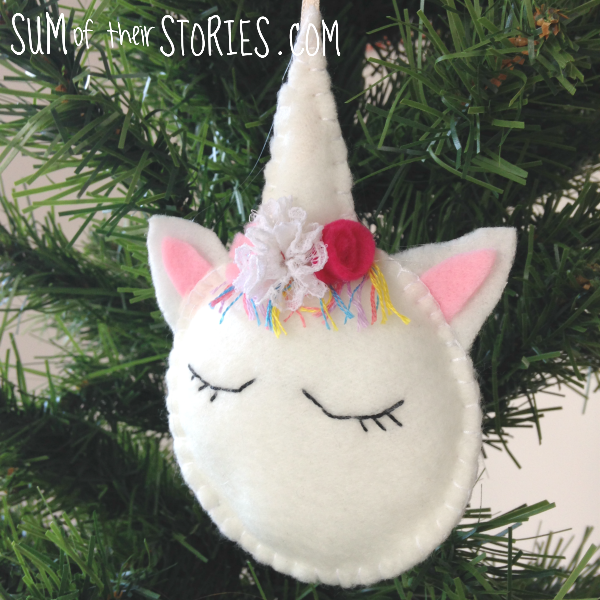 How to make unicorn ornaments