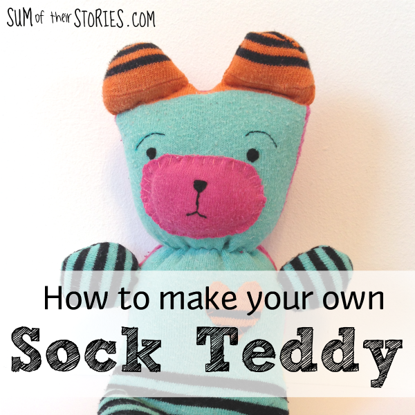 How to make your own sock teddy