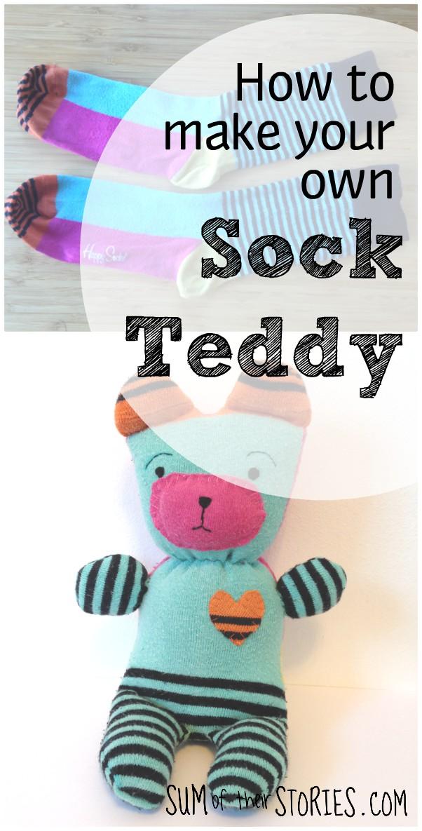 How to make a sock bear