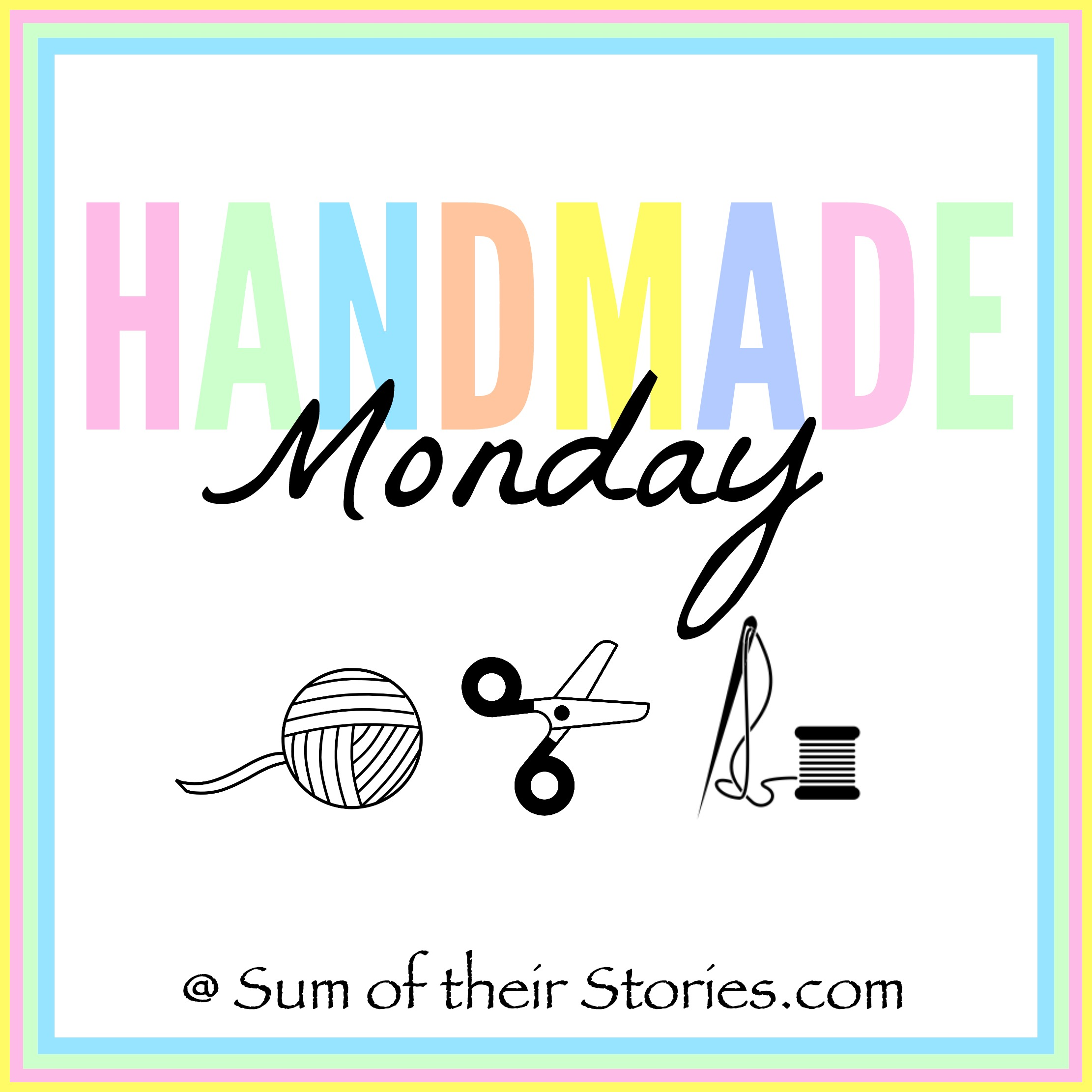 Handmade Monday craft link up