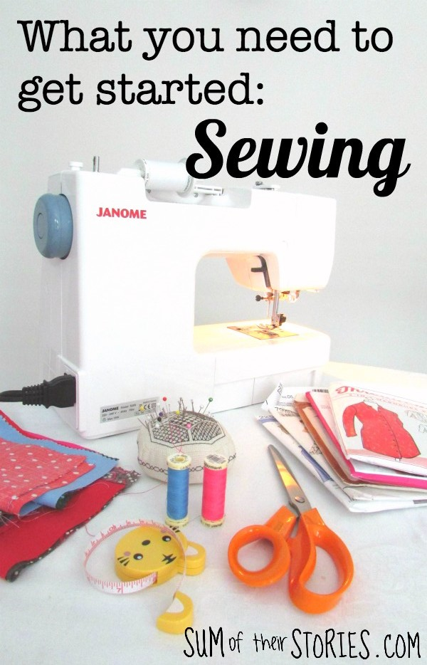What you need to get started sewing