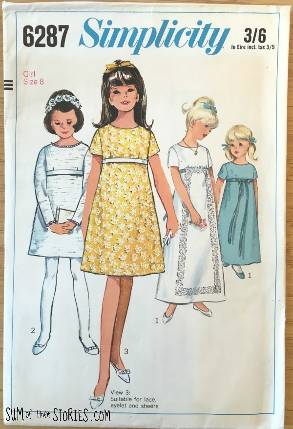 Tips for working with vintage patterns
