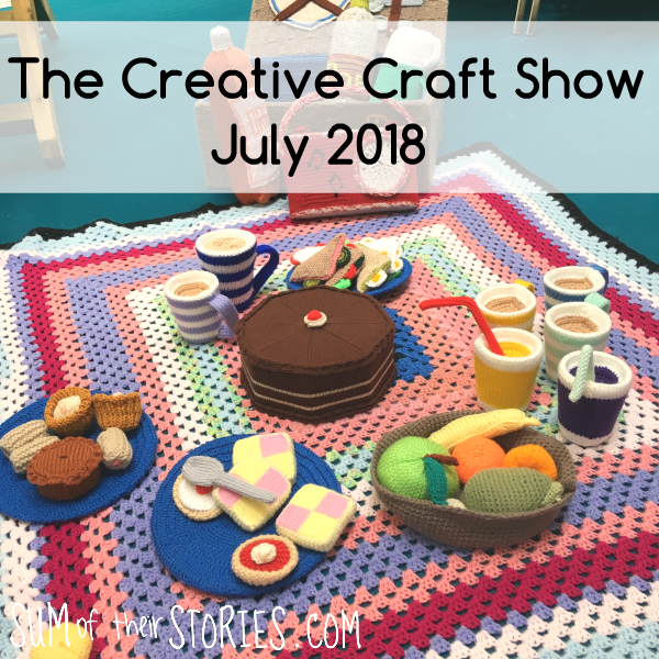 The creative craft show NEC July 2018