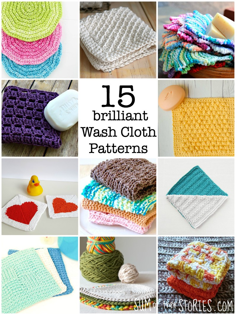 15 brilliant free wash cloth patterns