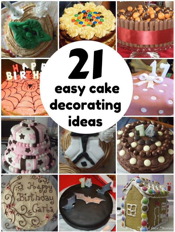 Simple Cake Decorating Ideas That Anyone Can Do Sum Of Their Stories Craft Blog