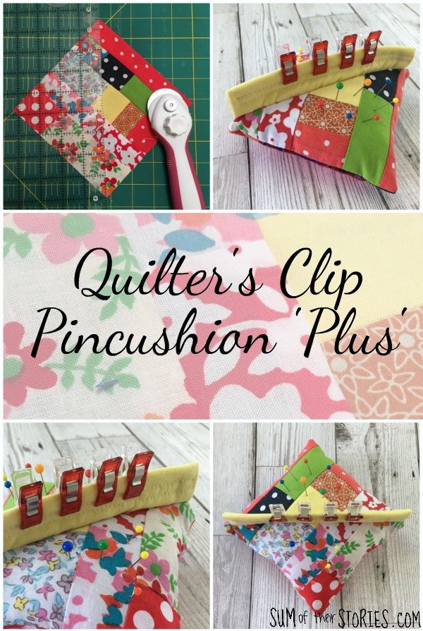 Quilting clips pincushion