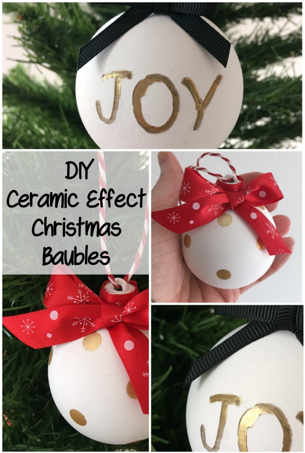 Update your old Christmas baubles