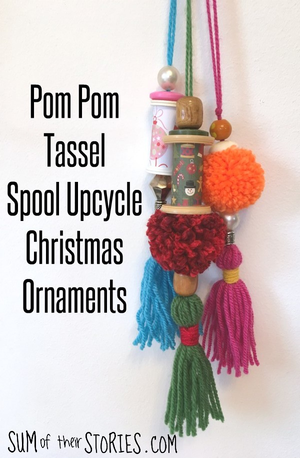 tassel christmas ornaments