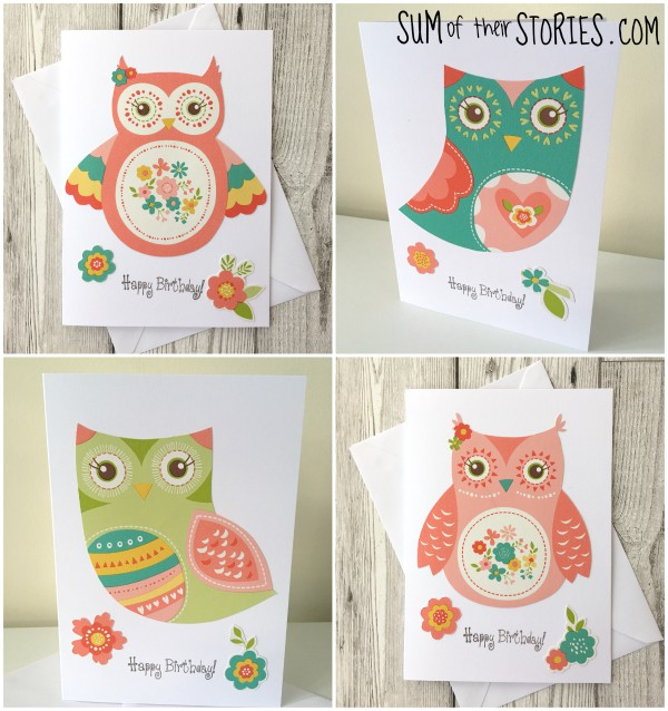 owl greeting card ideas