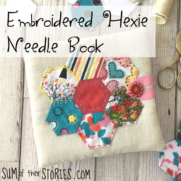 how to make a pretty needle book