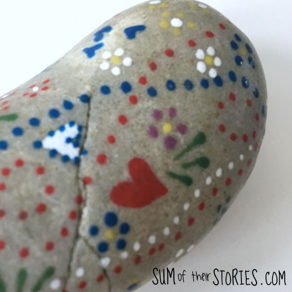 dot painted stones