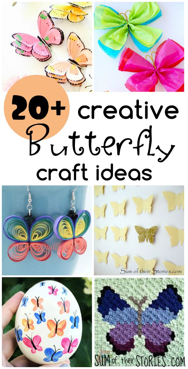 creative butterfly crafts